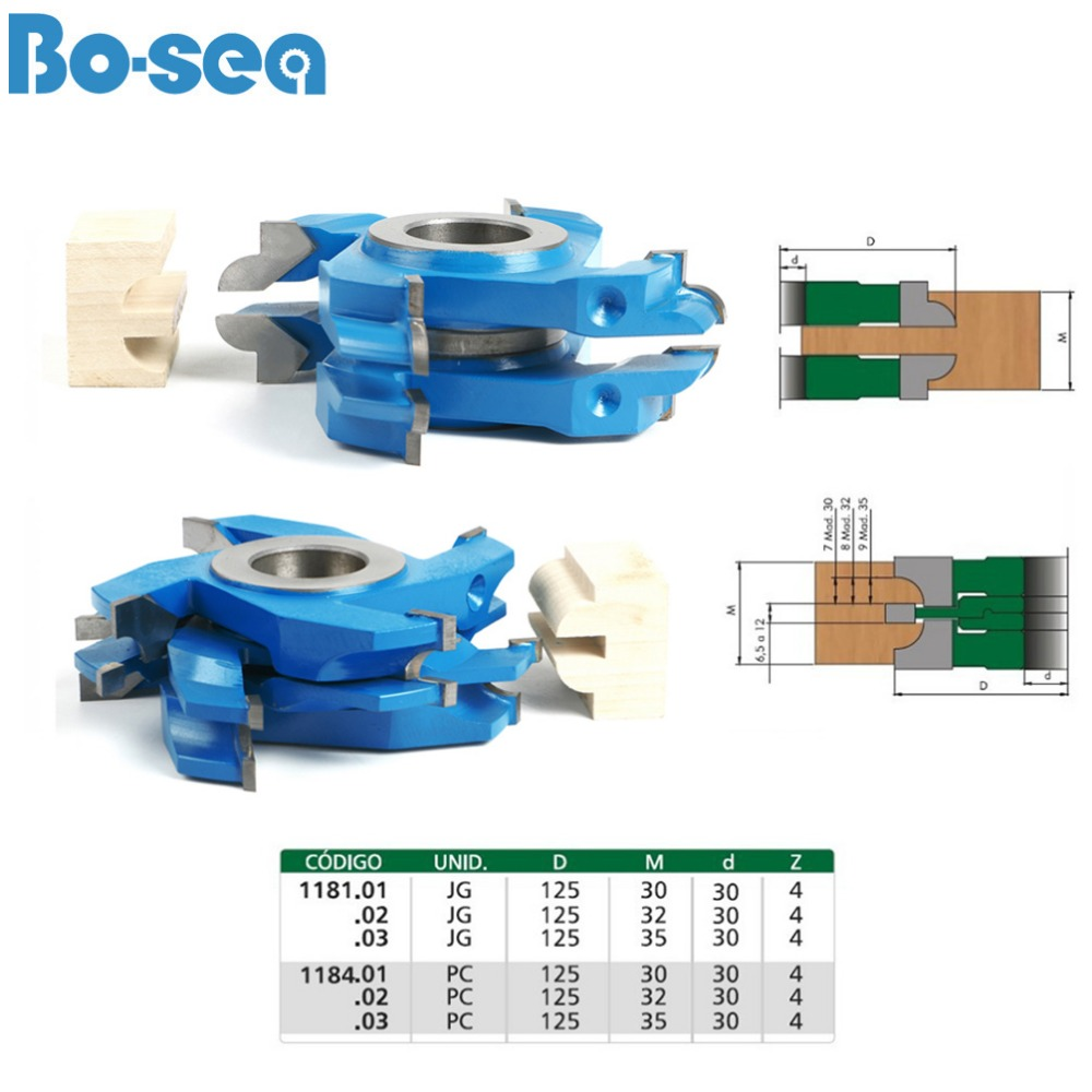US $262 0 |Shaper Cutter for Door Woodworking Cutter Bit ,High Quality and  Good Price#1181&1184#bo sea-in Milling Cutter from Tools on Aliexpress com