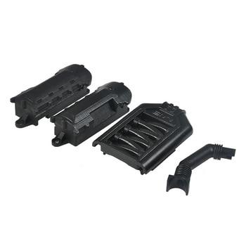 1 Set  ABS Plastic Engine Cover for 1:10 RC Crawler Car Traxxas TRX-4 TRX4 Black Free shipping