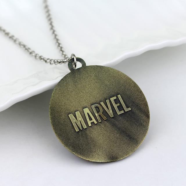 2 Colors DC Comic Movie X-men Pendant Necklace 5cm  Metal Alloy Super Hero Pendant for fans souvenirs