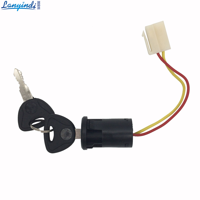 Childrens electric car power switch key switch,kids motorcycle switch