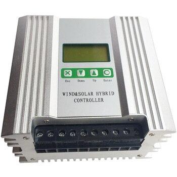 цена на 2000W Boost MPPT Wind Solar Hybrid Controller 24V Battery Regulator for 1000W Solar Panels & 1000W Wind Turbine Generator