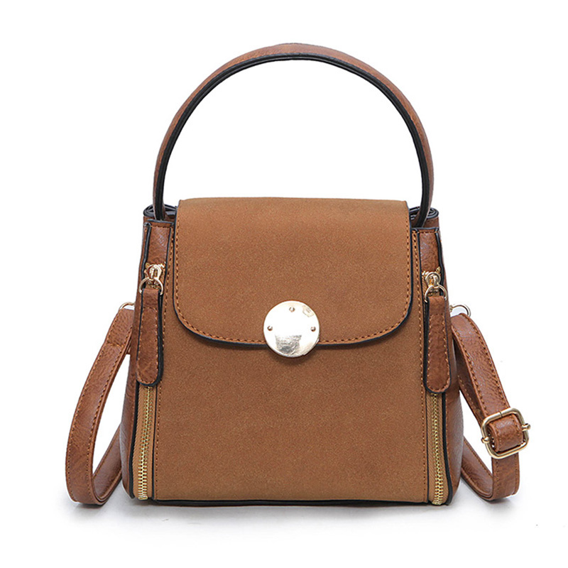 New Arrival Vintage Tote Women Leather Handbags Ladies Shoulder Bags Fashion Top Handle Bags High Quality