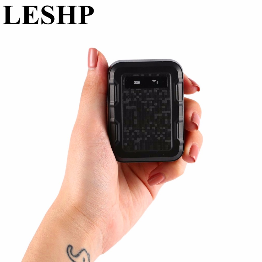 LESHP Vehicle GPS Tracker GT020 Magnetic GSM GPRS GPS tracker Anti-loss system for Car Burglar Alarm devices Standby 3 years gps vehicle gps gsm sms gprs communication terminal tracker anti thief system black