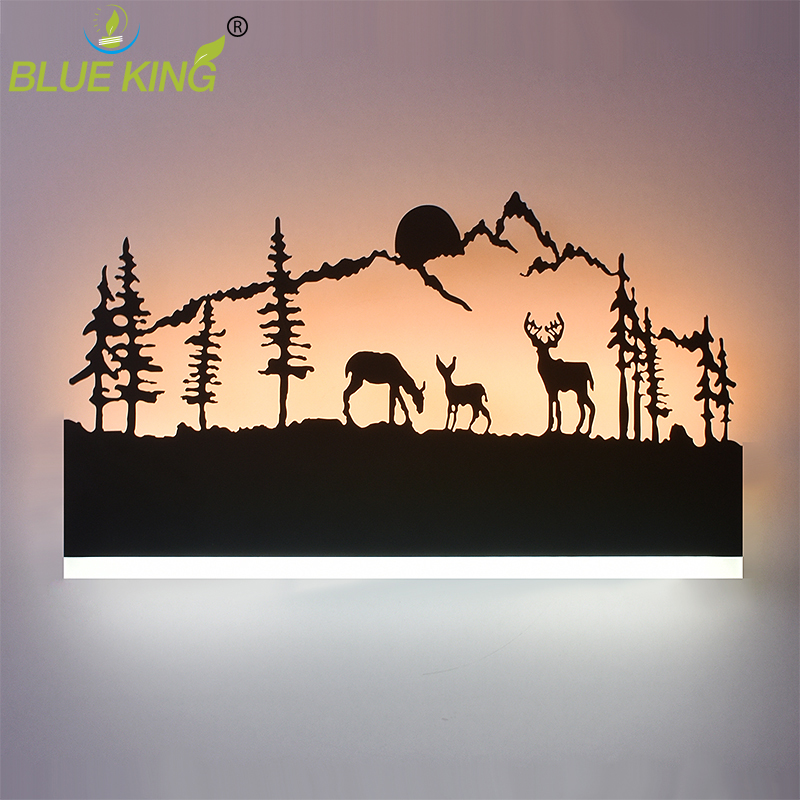 Acrylic Creative Modern Led Wall Light For Living Room Beside Bedroom Lamps LED Sconce Bathroom Wall Lamp LED Lustres black modern brief creative wave shape waterproof acryl led mirror light for bathroom living room wall lamp 41 50cm 1386