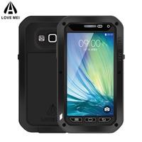 LOVE MEI Brand Aluminum Metal Cover Case For Samsung Galaxy A5 2015 A500 A500F A5000 Powerful