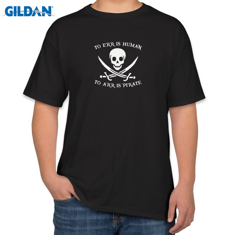 Design your own t shirt mens - Adult Size Tshirts Mens To Err Is Human To Arr Is Pirate T Shirt Premium Fitted Design Your Own T Shirts
