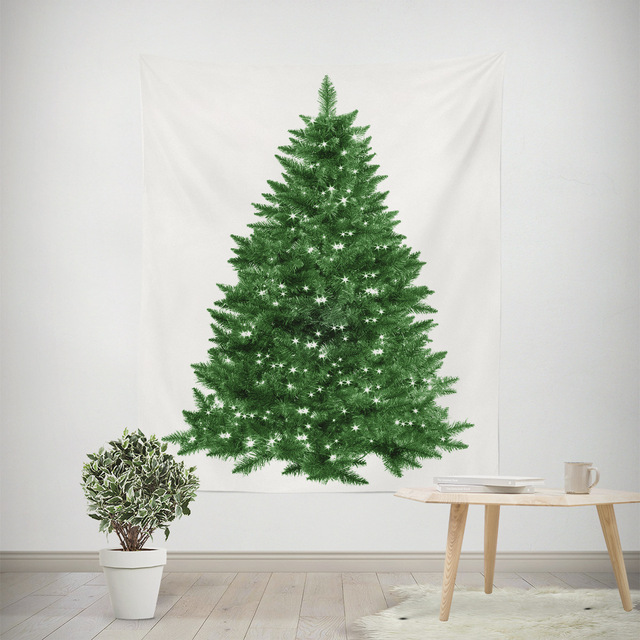 the christmas tree tapestry wall hanging christmas decoration tapestry