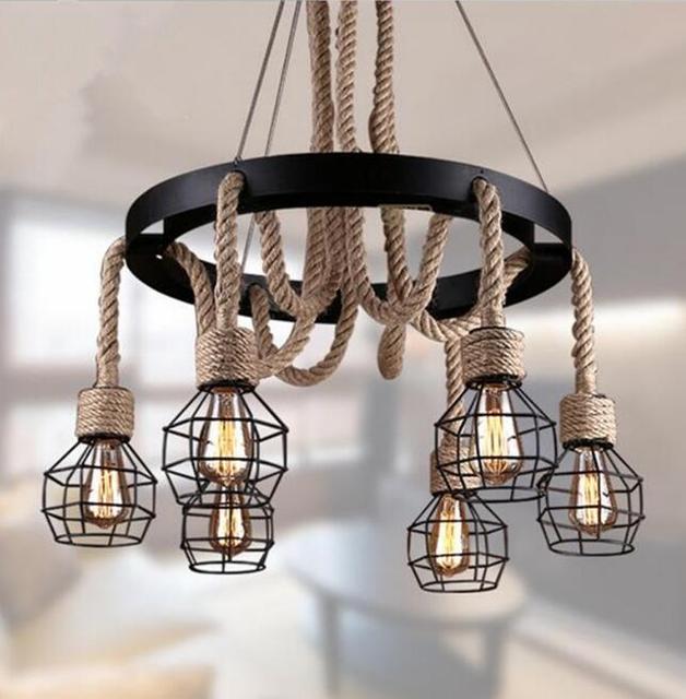 Moderne Leuchten vintage pendelleuchten seil edison birne le moderne leuchten