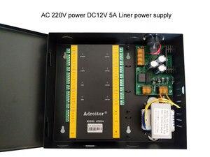 Image 3 - ウィーガンドブランド 32 ビット tcp/ip の 4 ドア制御 & 電源ケース 110 V/220 V オプションのサポートソフトウェア /web/スマートフォン/火災警報など