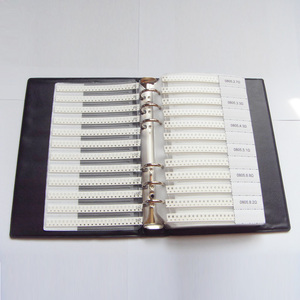 Image 3 - 0805 SMD Probe Buch 63 werte 3025 stücke 5% Widerstand Kit und 17 werte 700 stücke Kondensator Set
