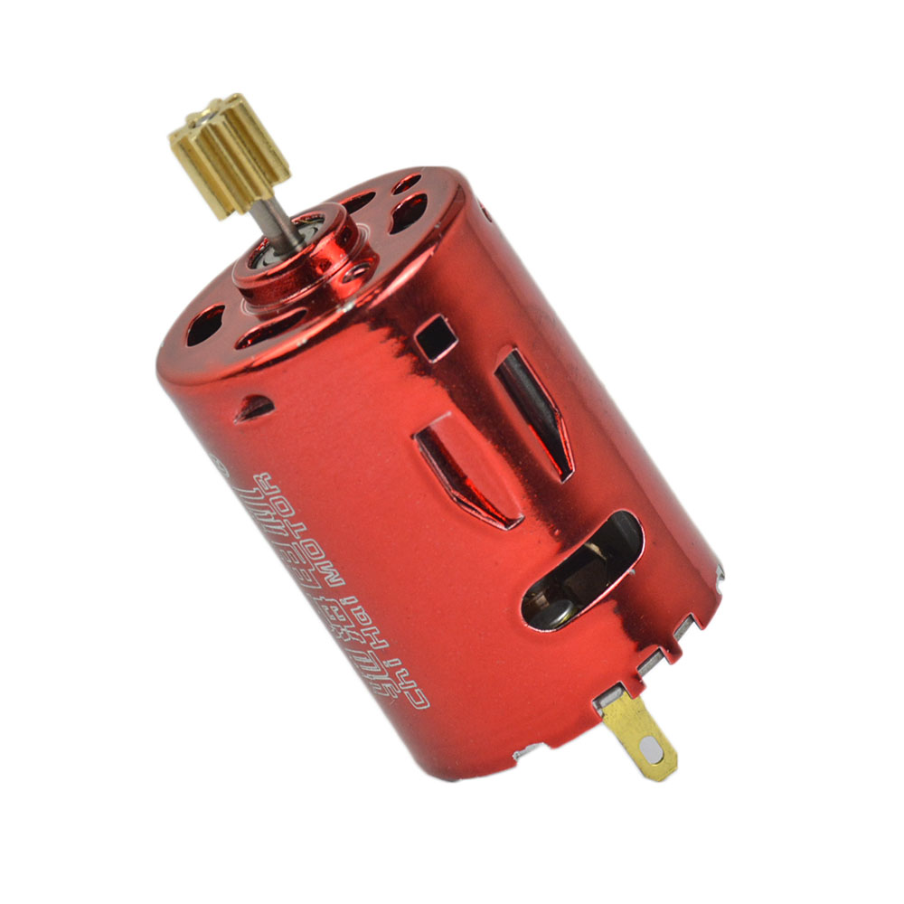 YIMAKER Micro 380 Water Bomb DC Motor DC7.4V 11.1V 53000rpm G36 Double Ball Bearing DC Motors With Output Gear