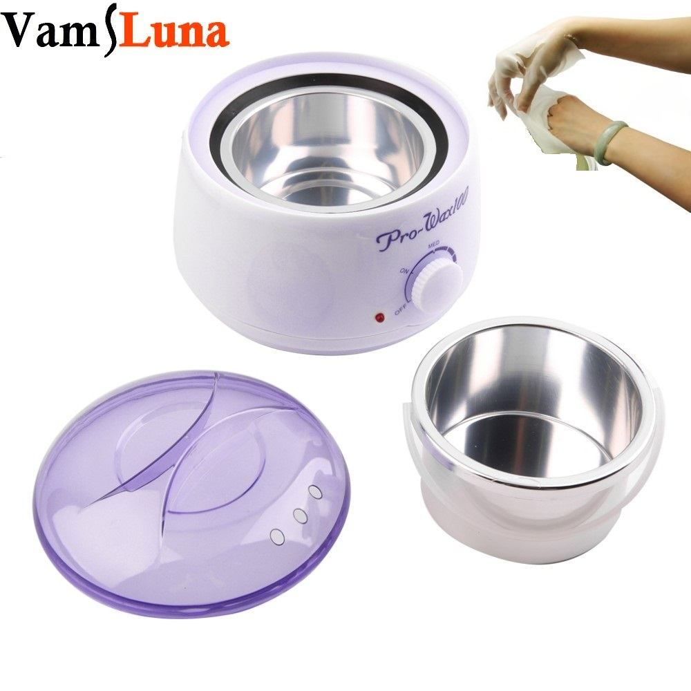 500ML Paraffin Waxing Heater & Wax Warmer Pot Hair Remover - Paraffin-wax Therapy Depilatory Salon Beauty Tool nail salon spa wax heater manicure pedicure paraffin warmer waxing new