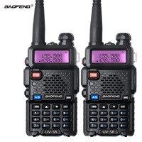 2PCS Baofeng UV 5R Walkie Talkie Dual Band UV5R CB Radio FM 128CH VOX Ham Radio