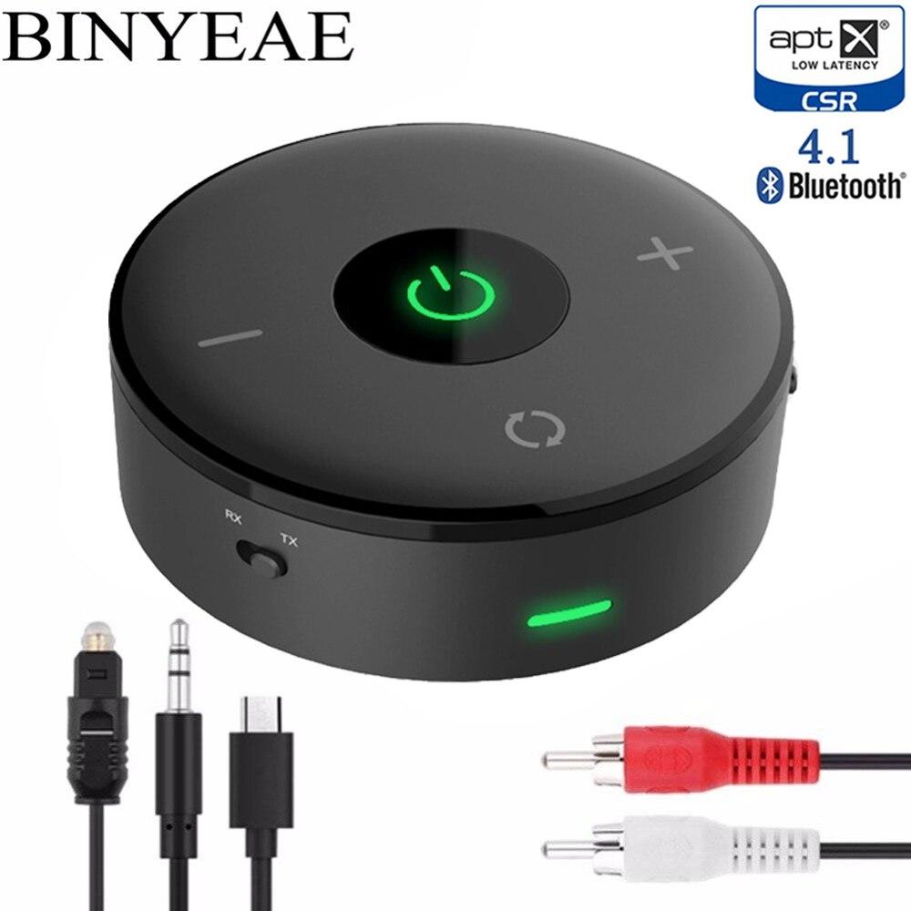 Unterhaltungselektronik Ehrlich Tragbare Drahtlose Bluetooth 4,1 Aptx Niedrigen Latenz Sender Empfänger A2dp Optische Spdif Rca 3,5mm Stereo Home Audio Tv Adapter