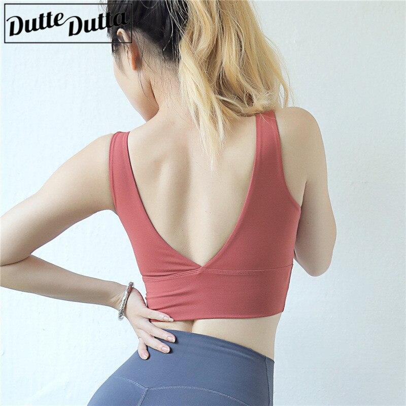 Fitness Sports Bra Women Gym Yoga Bra Crop Tops Sportswear For Women Sport Push Up Brassiere