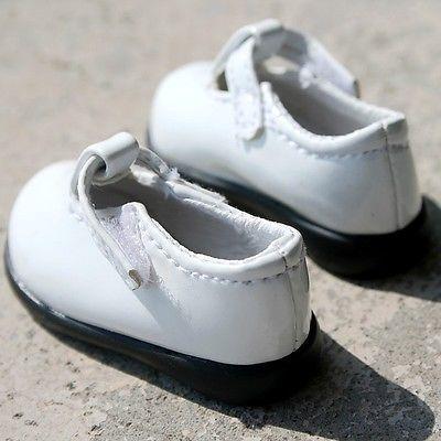 [wamami] 01# White 1/4 MSD DZ DOD AOD LUTS BJD Dollfie Leather Shoes