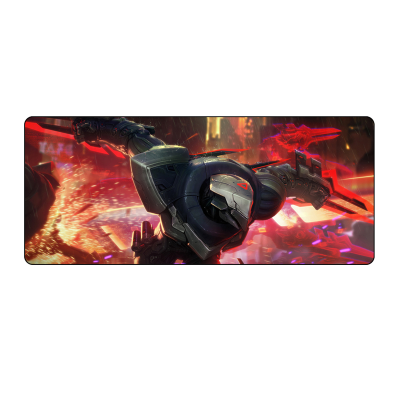 700*300 mouse pad large gaming mousepads for League of legends PROJECT zed yasuo yi ashe Lucian for League of legend hot sale