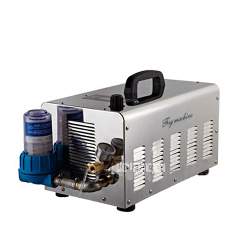 15.4L/мин высокого давления сделать систему тумана, пейзаж спрей охлаждения увлажнения спрей, высокого давления распылитель водяного насоса 220 В/380 В 3 кВт