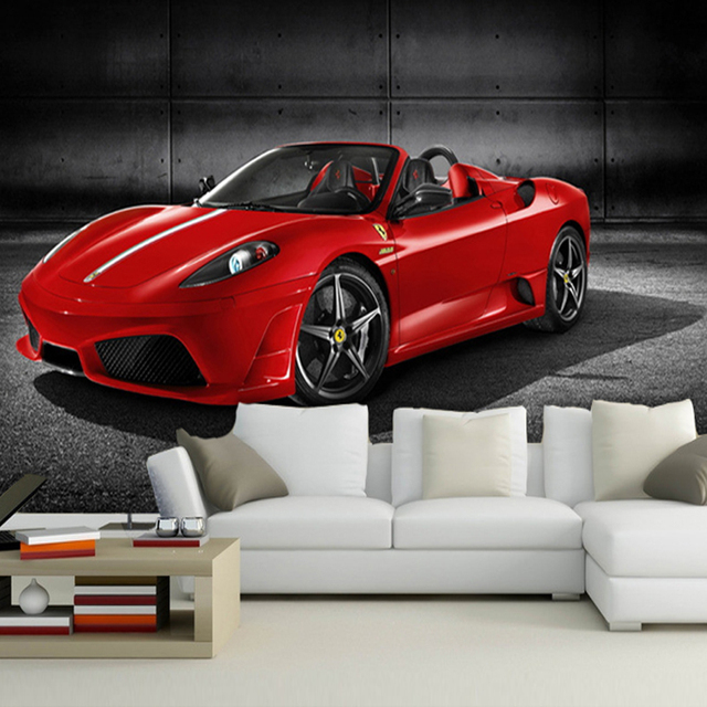 Custom Any Size Car Posters Magazine Sports Cars Mural Wallpaper - Sports cars posters