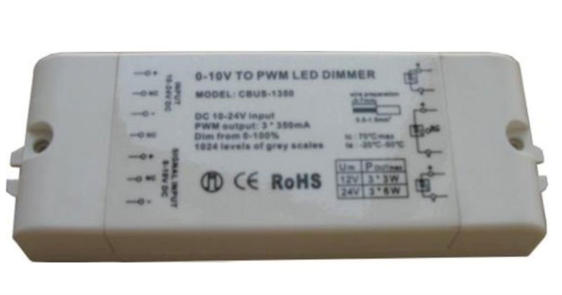 constant current 0 10v to pwm led dimmer 24w in dimmers from lights lighting on. Black Bedroom Furniture Sets. Home Design Ideas