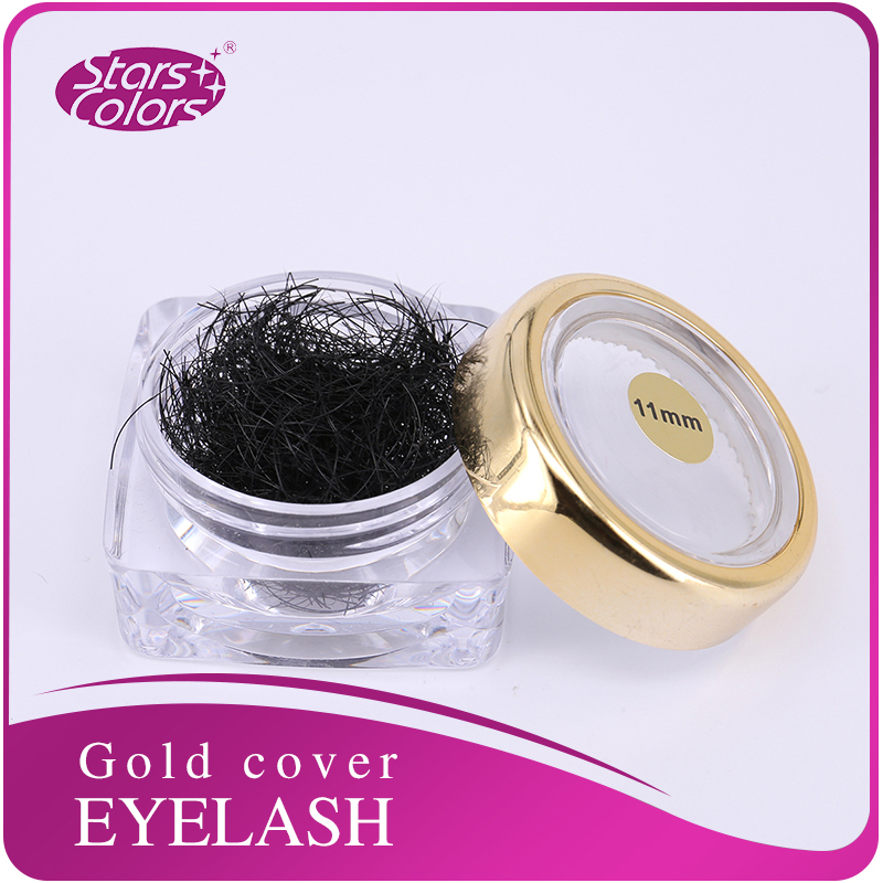 Faux Mink Natural Eyelash Extension High Quality Lashes Bulk Pieces In Glassware Make Up Lash Cilia Extension
