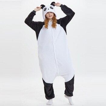 36e26e0f0a pijama anime cosplay adulto кигуруми entero capucha de manga larga panda  pijamas mono Franela kigurumi kungfu