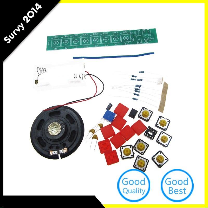 DIY Kit NE555 Electronic Component Parts Electric Piano Orga
