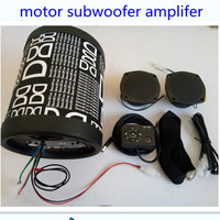 Bluetooth Big Power 12V Motorbike Motorcycle Amplifier support TF card,USB motor vechile FM radio Subwoofer bass speaker