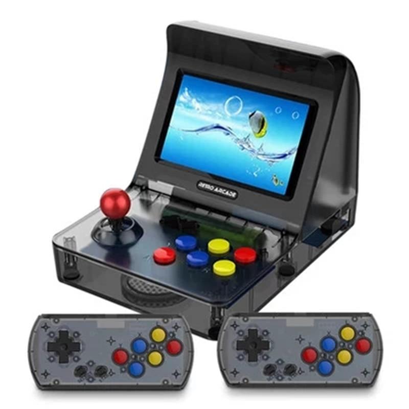 Motiviert 64bit 3000 Video Spiele Klassische Familie Spielkonsole 64bit Tragbare Retro Mini Handheld-spiel-spieler 4,3 Inch Retro Spiel Konsole Novel In Design;