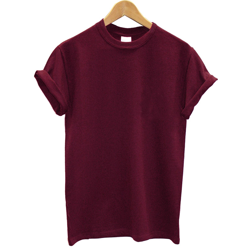 New Arrival 100% Cotton T-shirt Women And Men Solid T Shirt Summer Cool Tops Streetwear Clothing Female Tees Femme