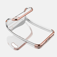 Plating shining cell phone case fo