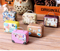 Zipi 18 Tones New Metal Suitcase Music Box New Year Christmas Gifts Wholesale