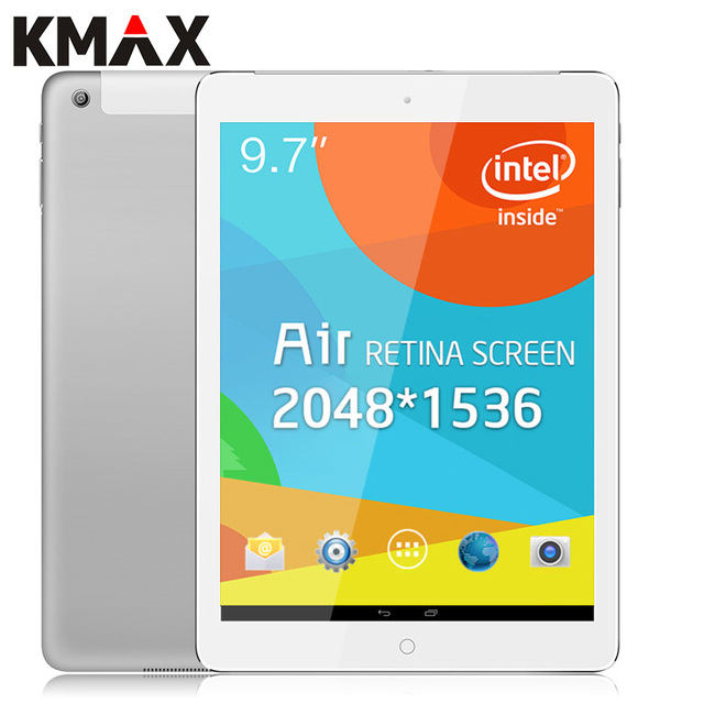 KMAX reeder 9.7inch Tablet Intel CPU FHD Android Tablet PC Retina Screen 2048*1536 Tablette 8GB Quad Core Wifi BT with Keyboard