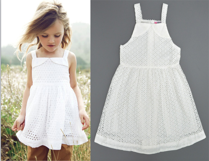 baby girl dress suspender summer style new designer