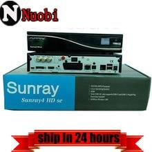 Sunray sr4 dm800se A8P enigma2 Receptor de TV Por Satélite Original sim a8p Triple Sintonizador DVB-S/C/T2 Rev D11 versión del envío de DHL
