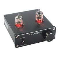 FEIXIANG FX AUDIO TUBE 01 Bile Preamp Tube Amplifier Preamp Bile Buffer 6J1 HIFI Preamplifier DC12V