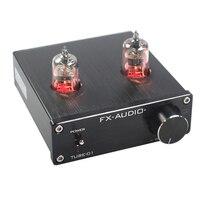 FEIXIANG FX AUDIO TUBE 01 bile preamp tube amplifier preamp bile buffer 6J1 MINI HIFI preamplifier DC12V