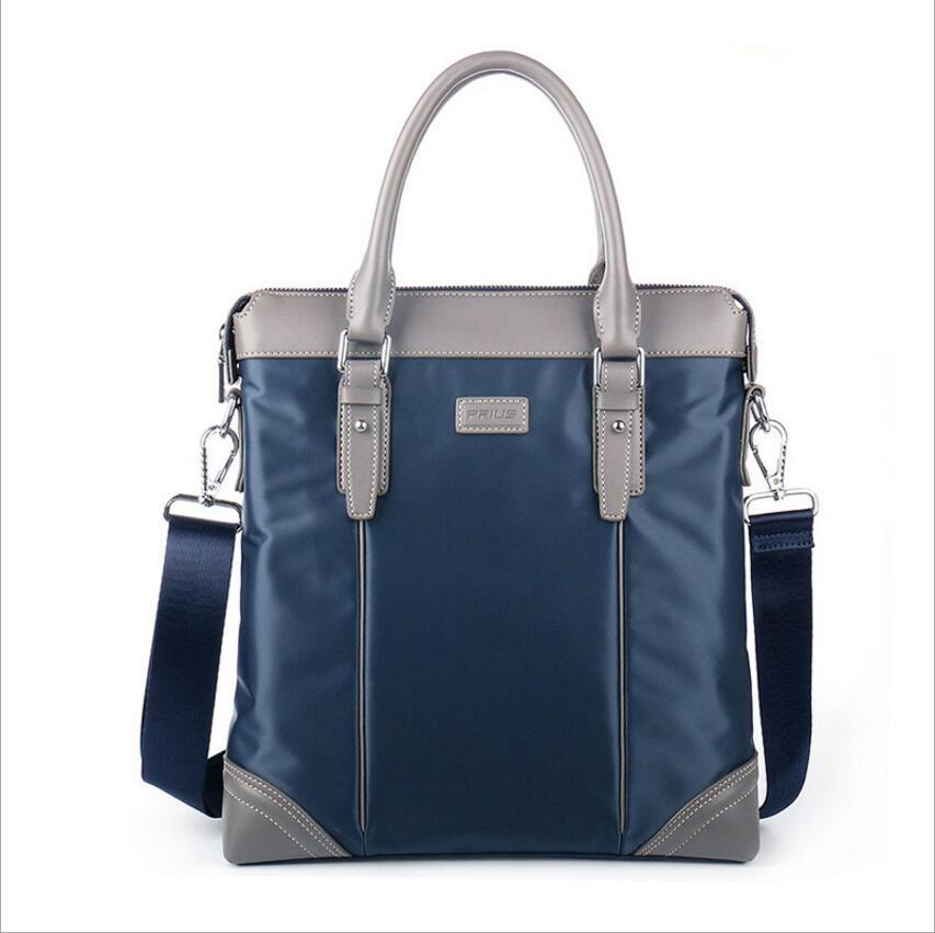 Prius новые Оксфордские нейлоновая сумка мужская мода Повседневное сумки вертикальный разрез плечо сумка мужской сумки Сумка