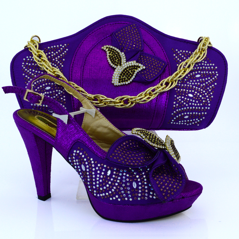 Blue Shoes And Bag To Match Italian African Women Matching Shoe Set Decorated With Liques Italy In S Pumps From