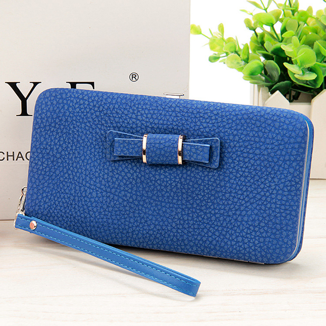 10 colors Purse wallet female famous brand card holders cellphone pocket gifts for women money bag clutch 888 3
