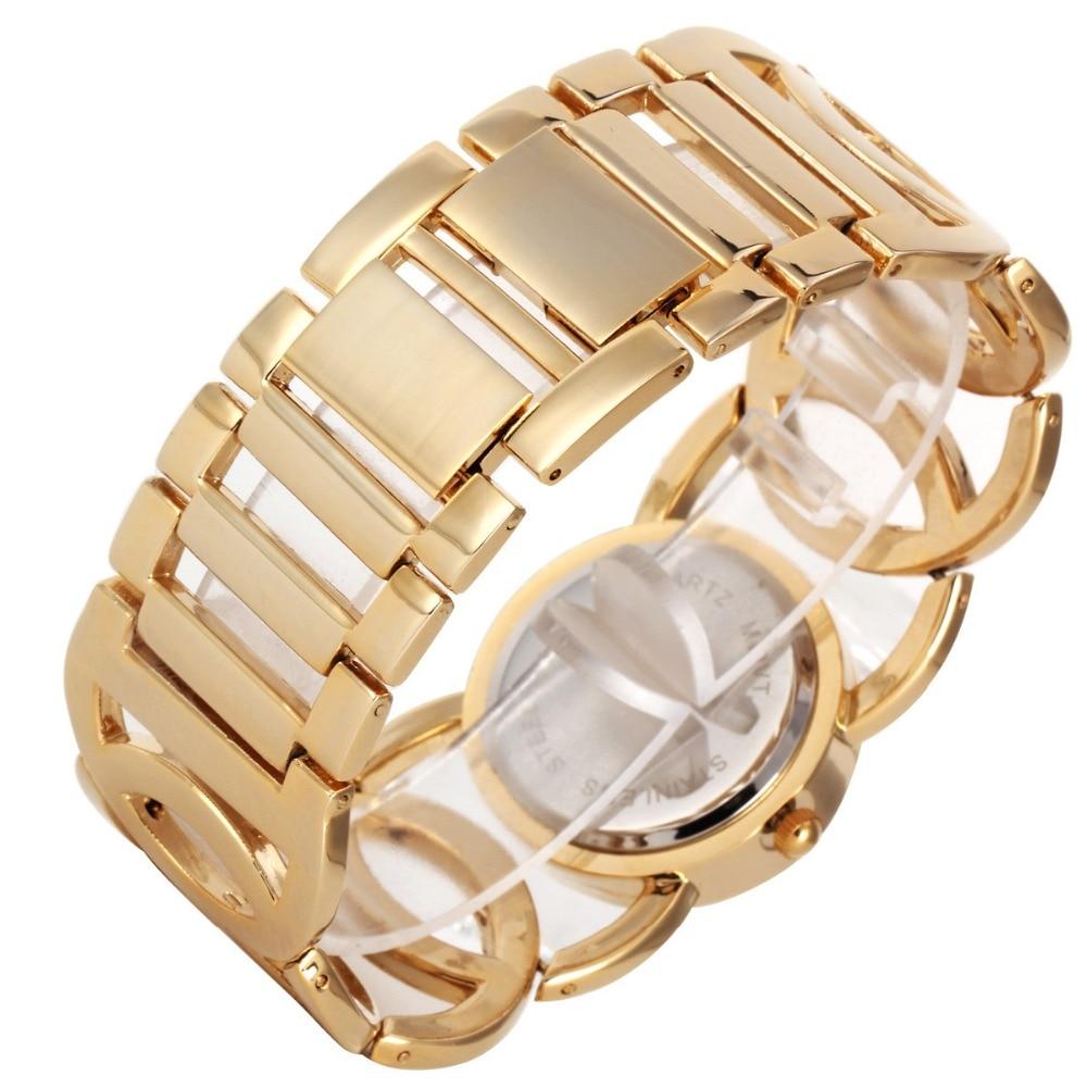 G & D merk dameshorloges 2017 gouden luxe armband horloge damesmode - Dameshorloges - Foto 5