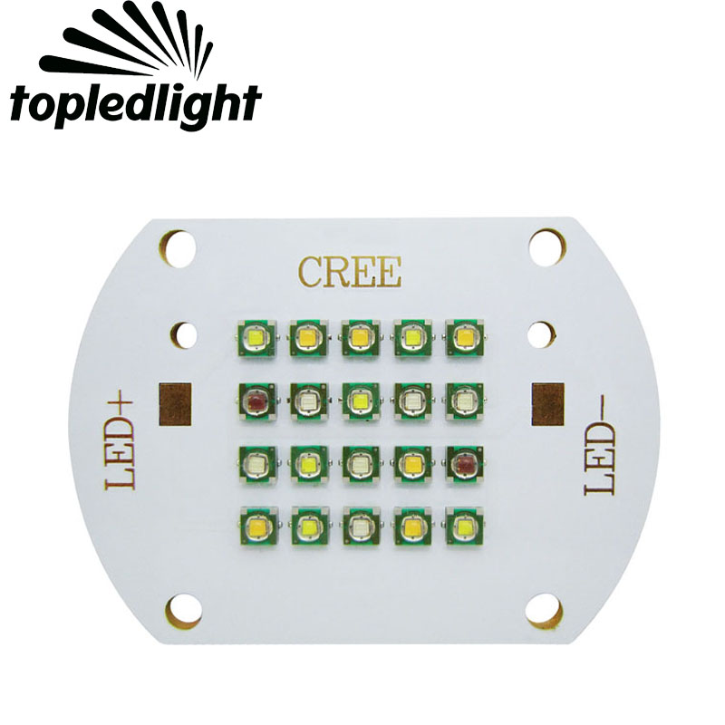 60W Cree XPE XP-E Energy Saving Led Emitter Lamp Light 3000k Warm White 470nm Blue 6000K White 620nm Red 520nm Green 114w cree cxa3070 cxa 3070 white 5000k warm white 3000k led emitter lamp light with plastic led holder
