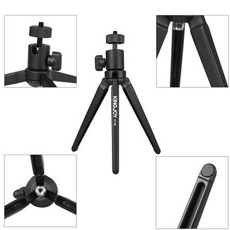 KT30 Small Portable Tripod For Projector Mini Selfie Video For IPhone 8 X 7 6s Plus Foldable Handheld Monopod Tripe For Cellular