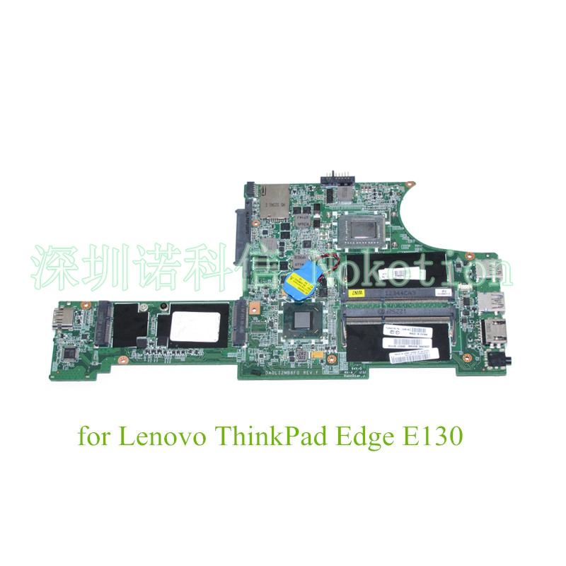 04W4188 DA0LI2MB8F0 i3-2367M For Lenovo ThinkPad Edge E130 Main Board Motherboard HM77 1.4GHz DDR3 Intel GMA HD 3000 0mnynp mnynp main board fit for dell vostro 3350 notebook pc motherboard hm67 ddr3 gma hd 3000