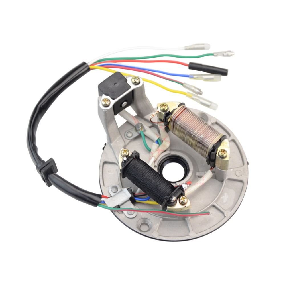 Ignition Coil Stator Flywheel For Ktm 50 Sx 50cc Pro Senior Junior Dr250 Wiring Diagram Goofit 2 Bobines Magnto Pour 70cc 90cc 110cc 125cc Dmarrage Atv Dirt Bike Et