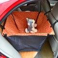 Cat Dog Pet Car Seat Cover Mat Blanket Cama Berço À Prova D' Água voltar rear animais hammock cushion protector azul vermelho rosa orange d0041