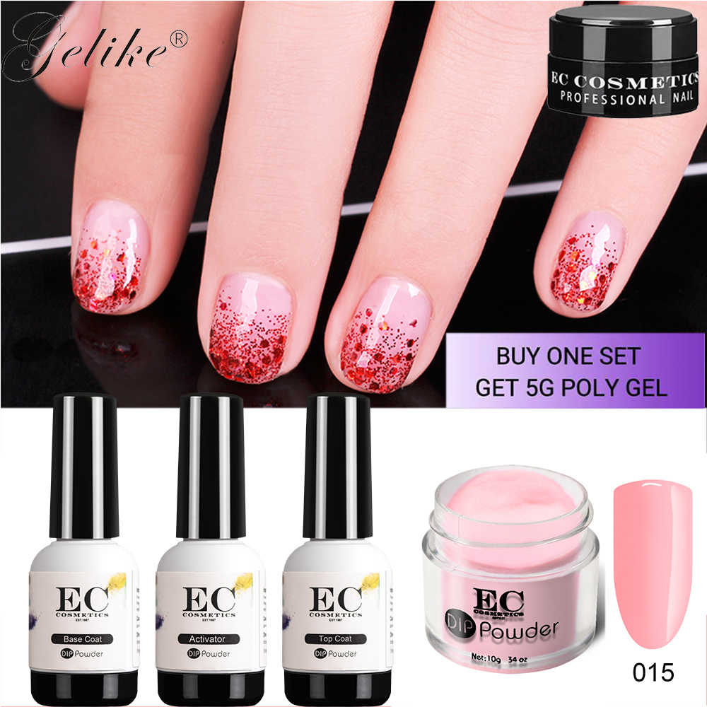 Detail Feedback Questions about Chrome Nails Dip Powder Kit Gel ...