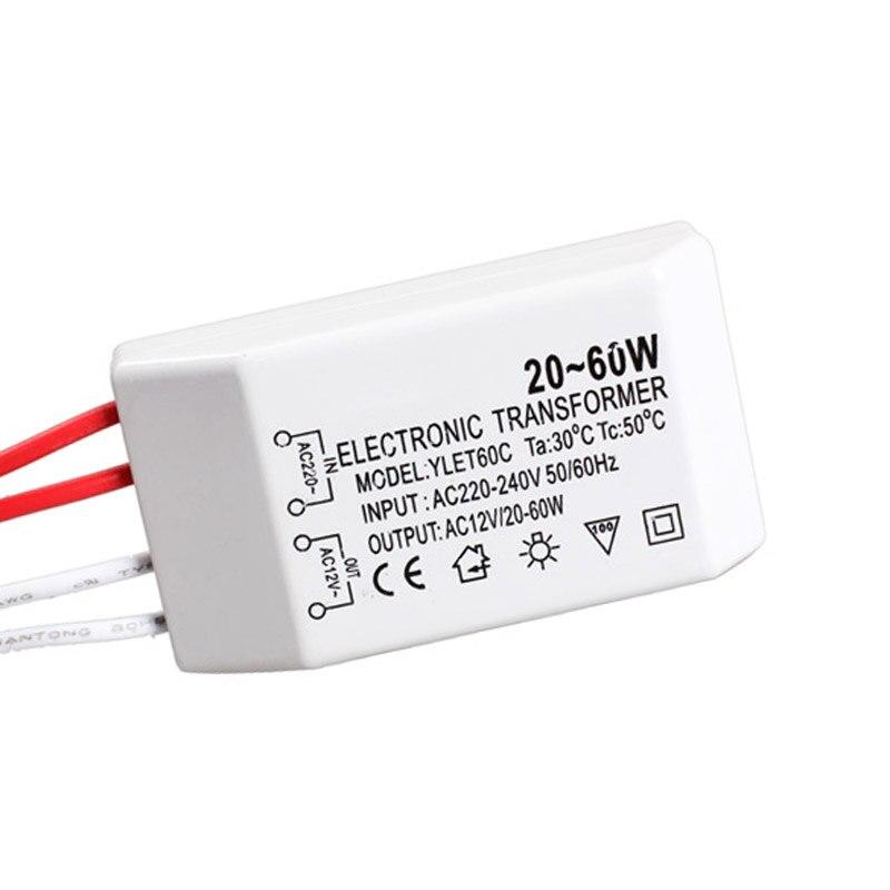 20-60W 12V Halogen Lamp Electronic Transformer Spotlight Adapter Device GQ999