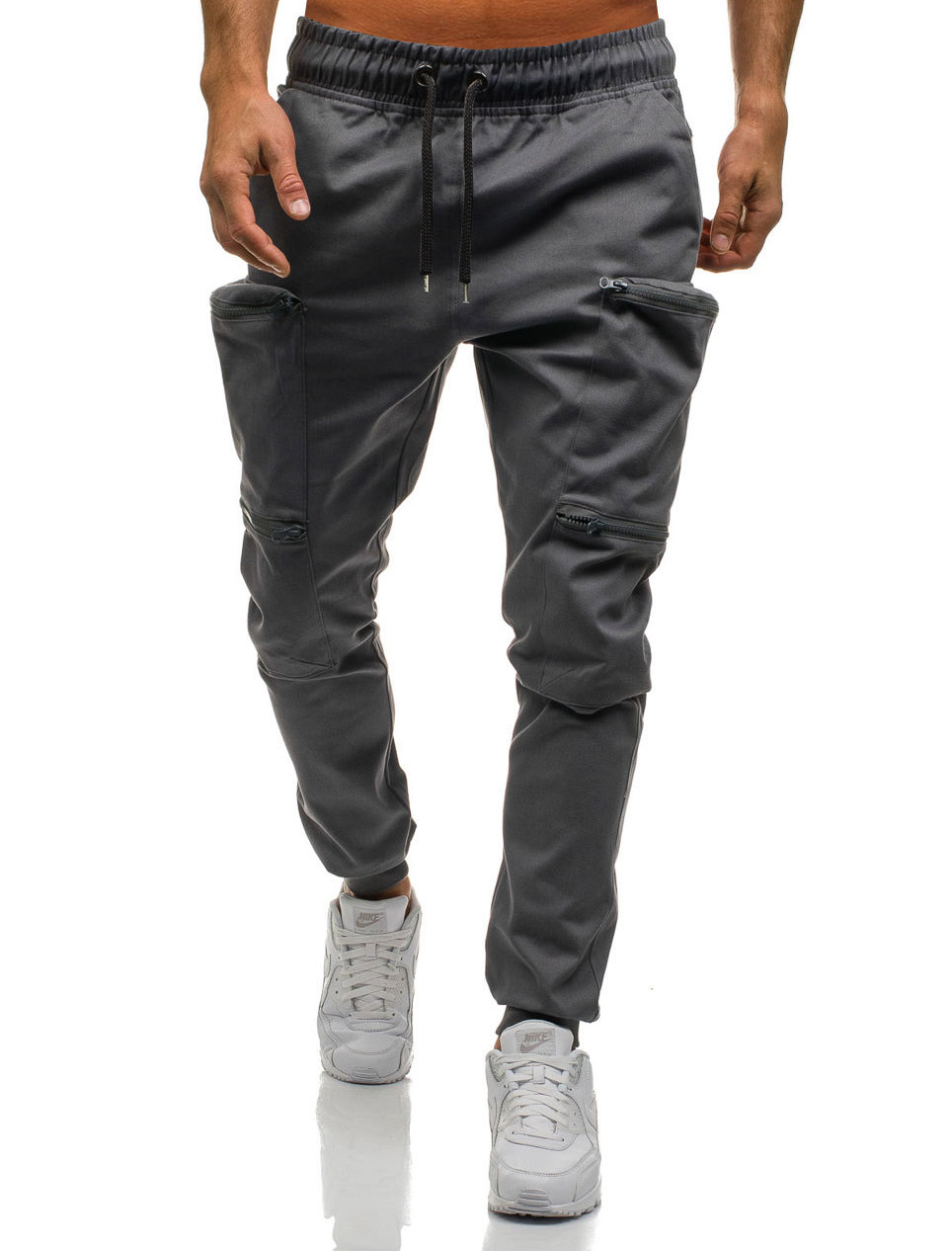 HTB1qO6eLYvpK1RjSZPiq6zmwXXaL Mens Joggers 2019 New Red Camouflage Multi-Pockets Cargo Pants Men Cotton Harem Pants Hip Hop Trousers Streetwear XXXL