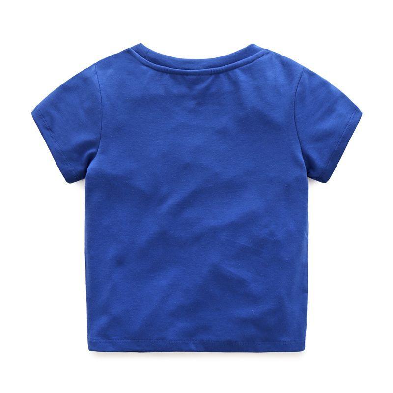 Summer Boys T-Shirts Cotton Kids Top Iron Man Short Sleeve Children Clothes O Neck Captain America Boy T-Shirt 2017 Boy Clothing (6)